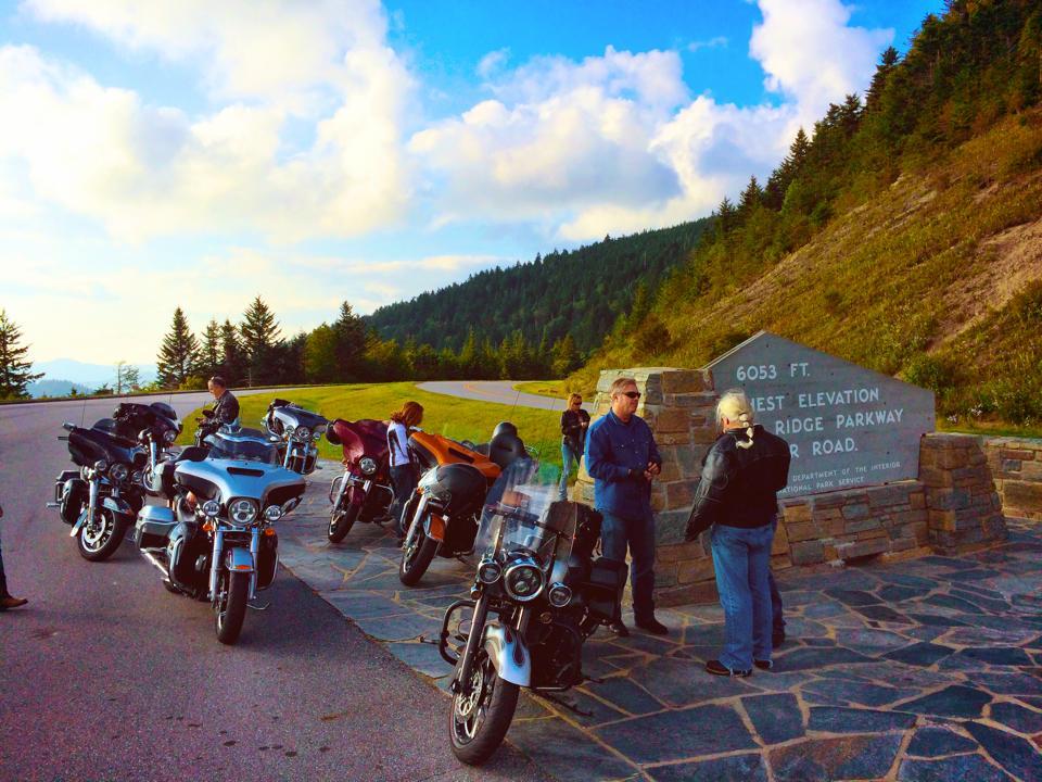 Blue Ridge Parkway - Scenic Overlook