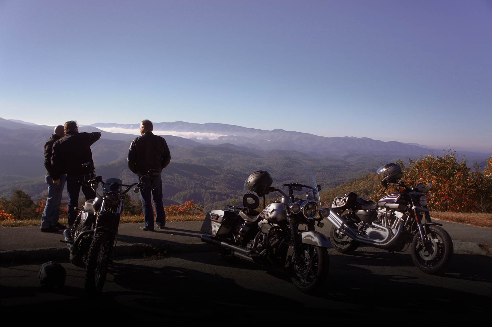 Riding The Smokies
